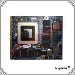 Wholesale Msi Nvidia - Original GTX 780M GTX780M N14E-GTX-A2 4G DDR5 Video Card For Clevo P151SMA P150SMA For MSI 16F3.16F4 GT60 1762 GT70 Graphic Card