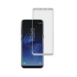 Wholesale Matte White Screen - S8 S8 Plus Note8 3D Full Covered AB Glue Tempered Glass Screen Protector Samsung Black White Direct from Shenzhen China OEM&ODM Wholesales