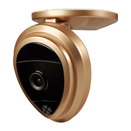 Wholesale Infrared Wireless Color Cmos Camera - Fashion shape outdoor 720P HD wireless IP mini camera wifi camera support Multi-view have 2 color for you choose