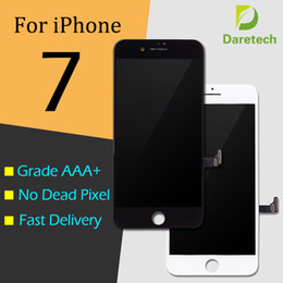 Wholesale Lcd Screen Panel Wholesale - Original LCD Display Touch Digitizer Complete Screen with Frame Full Assembly Replacement for Grade A +++ iPhone 7 DHL shipping