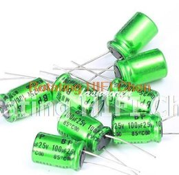 Wholesale Wholesale Bp Kits - Promotion Kit 10pcs NICHICON MUSE BP 100UF 25V 10X16mm new Aluminum Electrolytic Capacitor freeshipping audio Odroid 25V100UF