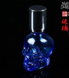 Wholesale Crystal Skull Glasses - Crystal Skull portable alcohol lamp --glass hookah smoking pipe Glass gongs - oil rigs glass bongs glass hookah smoking pipe - vap- vaporize