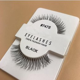 Wholesale Handmade Sales - Hot Sale 1 Pairs RED CHERRY False Eyelashes 100% Handmade Hair Strip Lash Fake Eye Lashes S M L