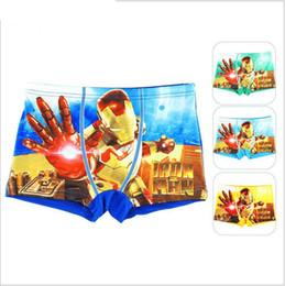 Wholesale Boys Boxer Briefs 12 - 2016 Fashion Surperman Cotton Kids Underwear Boxers Briefs Cartoon Children Panties Melimelo Organic Cotton Children Underwear