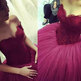Wholesale Sexy Green Corset Skirt - 2016 Vintage Quinceanera Dresses Ball Gown Puffy Corset Lace Top Tulle Skirt Floor Length Prom Gowns Cheap Custom Made Top Quality