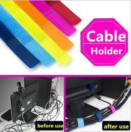 Argentina Cable de alambre Organizador Correa Envoltura Cable de alambre Gancho de sujeción de cable clip de lazo Suministro