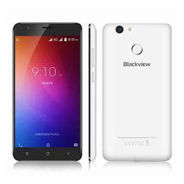 Wholesale E7 Mobile Phone - Original Blackview E7 4G Smartphone 5.5 Inch Android 6.0 Quad Core 1GB RAM 16G ROM Mobile Phone MTK MT6737 1.3GHz 8.0MP 2700mAh