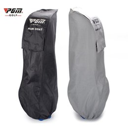 Wholesale Anti Ultraviolet - Original Golf Bag Rain Cover Waterproof Anti-ultraviolet Sunscreen Anti-static Raincoat Dust Bag Protection Cover 2 Color 2513006