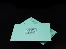 Argent 925 Sterling Argent Chiffon De Mode Femmes Bijoux De Nettoyage Nettoyants Polonais Pour Bracelet Collier Avec 4x7cm Paquet de Papier ? partir de fabricateur
