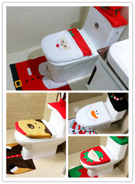 4 Styles Cheap 2016 Merry Christmas Decoration Santa Elk Elf Toilet Seat  Cover Rug Hotel Bathroom Set Best Xmas Decorations GiftsBest Toilet Seat Covers Online Wholesale Distributors  Best Toilet  . Best Toilet Seat Cover. Home Design Ideas