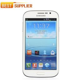Gsm сотовые телефоны сим-карты онлайн-Оригинальный Samsung Galaxy Grand I9082 отремонтированный мобильный телефон GSM 3G WIFI GPS Dual sim-карты 8MP камера Samsung отремонтированный мобильный телефон