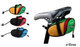 Wholesale Bike Bag Back - Free DHL New Arrival Roswheel Outdoor Cycling Mountain Bike Bicycle Saddle Bag Back Seat Tail Pouch Package