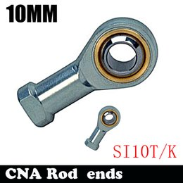 Wholesale Threaded Rod Ends - Wholesale- Free Shipping 10mm Female SI10T K PHSA10 Ball Joint Metric Threaded Rod End Joint Bearing SI10TK 10mm rod