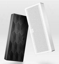 Wholesale Iphone Floor Speaker - 100% Original Xiaomi Wireless Portable Stereo Mini HiFi Bluetooth 4.0 Box Speaker Outdoor Subwoofer Loud speakers For iphone 6