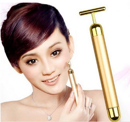 Wholesale Beauty Bar Massager - Personal Care Facial Massager Energy Beauty Bar Face Massager Golden Facial Roller Body Massage Beauty Bar Face Body Care