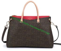 Wholesale Halloween Bowling - Top Grade Brown Canvas Coated Leather Lady Handbag Palllas M41599 M41064 M50066 M41175 M41721 M41722 Women Designer Shoulder Bag Tote