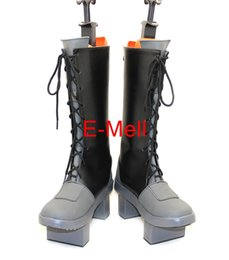 Wholesale Vocaloid Len Kagamine Cosplay Costumes - Wholesale-VOCALOID Kagamine Len Boots Anime Cosplay Men's shoes Custom Made Halloween High Quality 7628