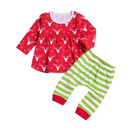 c2e5ab712e640 christmas outfit 18 months Coupons - 2018 New Baby Girls Christmas hollowen  Outfit Kids Girls Deer