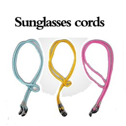 Wholesale Neoprene Sunglasses Straps - Sunglasses Cords Neoprene Neck Strap Retainer Cord String Glasses Cords Prvent slipping Off High Quality ##3 santa_
