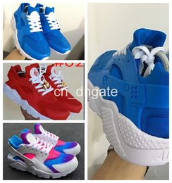 Wholesale 2016 New Arrive Air Huarache Ultra Running Shoes Red inkjet paper Huaraches Men And Women Sneakers Fashion Huraches Sports Shoes Size