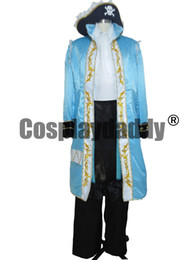 Wholesale Hetalia France Cosplay - APH Axis Powers Hetalia France Halloween Army Uniform Suit Cosplay Costume