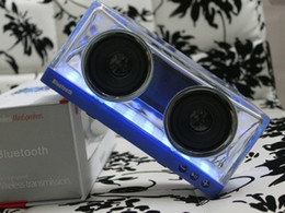 музыкальные усилители Скидка новый светодиодный Кристалл X3 Bluetooth колонки сабвуфер мини-динамик портативный беспроводной мини Bluetooth динамик усилитель для музыки открытый Handfree