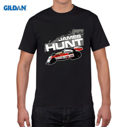 Wholesale Hunting Shirts For Men - Awesome For Man James Hunt F1 1976 T Shirt Latest Tee Shirts Plus Size Mens Graphic T Shirts