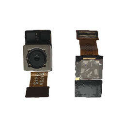 Parties du nexus en Ligne-Pour LG Google Nexus 5 D820 D821 Arrière Arrière Grande Caméra Flex Câble Module Remplacement Cellulaire De Réparation Pièces De Rechange