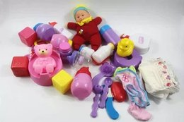 Wholesale Doll Toilet - 1set , Wash the toilet bowl with doll accessories