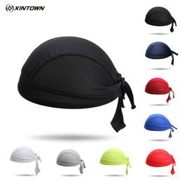 Wholesale Team Cycling Headband - Wholesale-XINTOWN Cycling Cap Sweatproof Sunscreen Headwear Polyester Bike Team Scarf Coif Bicycle Bandana Pirate Headband