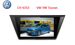 Wholesale Gps Touran - For VW Touran 2015- Car dvd Android 4.4 GPS Car Navigation Player With WIFI 10.1 Inch with Capacitive Screen 1024*600 IPS Screen