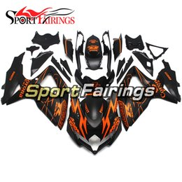 Wholesale Corona Black - Fairings For Suzuki GSXR600 750 K8 08 09 10 2008 2009 2010 ABS Motorcycle Fairing Kit Bodywork Motorbike Cowling Black Orange Corona Extra