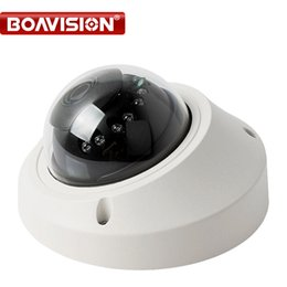 Wholesale 1mp Ip Camera - Onvif HD 1080P IP Camera Vandalproof 720P Real time Mini Dome CCTV Security Camera 1MP 2MP Night Vision P2P Cloud Android View