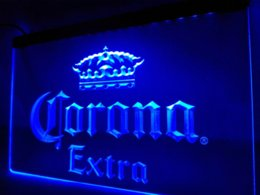 Wholesale Neon Crafts - LE013- Corona Extra Beer Bar Pub Cafe LED Neon Light Sign home decor crafts