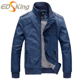 Wholesale Camouflage Varsity Jacket - Wholesale- Mens Bomber Jacket College And Mens Coat Windcheater Winter Tactical Jackets Army Jean Down Camouflage Varsity Brand Clothing