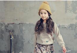 Wholesale kids spring suits - Retail Teenage Girls' Clothing Set Autumn New 2016 Kids Girls Clothes Sports Suit Long Sleeve Top & Pants 2 pcs White Black