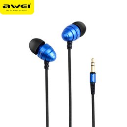 Wholesale Q2 Phone - Awei ES-Q2 Wired Stereo In Ear Headphone In-Ear Earphone Stereo Music Deep Bass In-ear Earphones Headphones