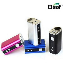Wholesale Mod Batteries - Eleaf istick 10W mini battery istick 10W simple kit Ismoka istick box mod E leaf mini battery I stick 20W 30W 50W 60W 100W DHL