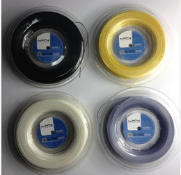 Wholesale Strings Tennis Racket - Best price high quality Luxilon tennis string Alu Power Rough 125 big banger 200m reel tennis rackets string 16L Luxilon string
