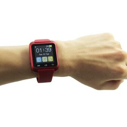 Wholesale Iphone 4s Dhl - Bluetooth Smart Watch U80 wrist watch sport for iPhone 4 4S 5 5S Samsung S4 Note 2 Note 3 HTC free shipping by DHL