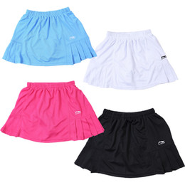 Wholesale Beautiful Sports - Free shipping, 2016 hot Lining stylish beautiful tennis skirt women's sports half length skirt badminton skirt