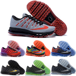 Wholesale Shipping Men Boots - Drop Shipping Wholesale Running Shoes Men Women Air Cushion 2016 Boots Cheap Sneakers High Quality New Color Sports Shoes Size 5.5-12