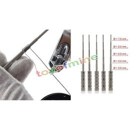 Wholesale Electronic Cigarette Wick Wire - Wholesale-Super Micro Metal Master Vape Tool Coil jig for electronic cigarette rda RBA atomizer wick wire Wick Wrapping winder kit