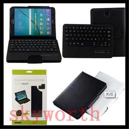 Wholesale Leather Ipad Mini Case Keyboard - Removable Wireless Bluetooth Keyboard leather Case Stand For ipad pro 9.7 air mini 2 3 4 5 6 Galaxy tab 3 Nexus