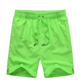 Wholesale Gym Shorts Clothing - Wholesale-2016 Summer Casual Style Gym Clothing Sport Shorts Beach Bermuda Surf Shorts Man Brand Fast Dry Football Jogging Running Shorts
