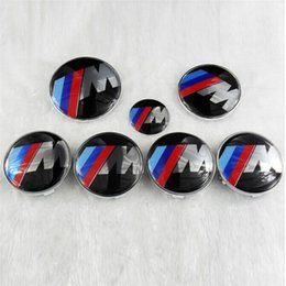 Wholesale Car 82mm - Car Badges for BMW 45mm 68mm 73mm 82mm PVC Car Badges Cheap Exterior Accessories New Arrivals