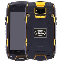 Wholesale Shockproof Android Gps - Discovery V11 Android 5.0 IP68 Waterproof Phone Dual SIM MTK6582 Quad Core 1.3GHZ 16GB ROM GPS Dustproof Shockproof Outdoor Smart Phone