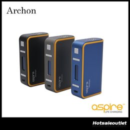 Wholesale Authentic Children - Authentic Aspire Archon 150 TC Mod with the CFBP Function & Child Lock & Upgradable Firmware Best Match with 100% Original DHL Free