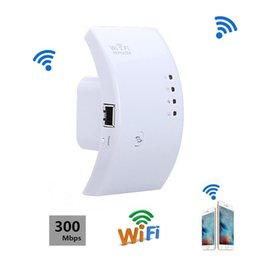 Wholesale Wireless Router Range Extender - Mini Wireless Wifi Repeater 300Mbps Extender IEEE 802.11n b g Network Router Long Range Extender Booster UK EU US AU Plug