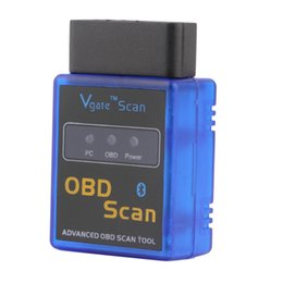 Wholesale Diagnostic Vw Audi - Vgate Scan tool Quality A+ V2.1 Version Super OBD Scan mini elm327 Bluetooth elm 327 OBDII OBD2 Auto Diagnostic intercace